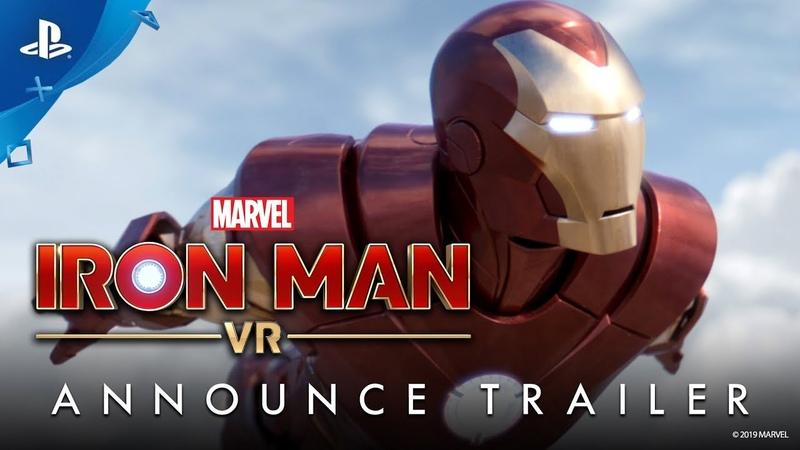 Marvel's Iron Man VR Announce Trailer PS VR
