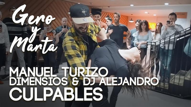 Gero Marta Bachata Sensual Culpables Manuel Turizo Dimensions Dj Alejandro