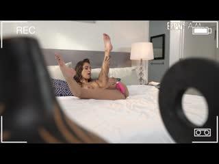 Uma Jolie - Blows Stepdad With Mom On The Phone [All Sex, Hardcore, Blowjob, POV]
