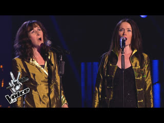 Carla and Barbara - The Flower Duet (The Voice UK 2013)
