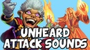 Attack Sounds You Don't Usually Hear [HEARTHSTONE]