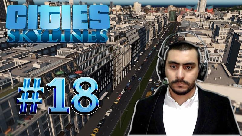 Çöpçü Abiler Biraz Hızlı Olalım Şehir Pislendi | Cities Skylines 18 Türkçe