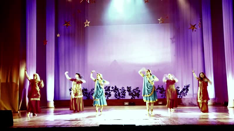 Индийский танец Концерт Лампа Аладдина 30 01 2021 г