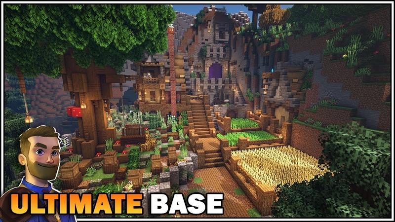 Minecraft Timelapse THE ULTIMATE MEDIEVAL SURVIVAL BASE [World Download]