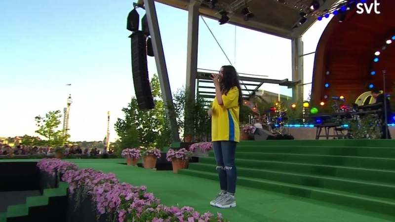Alessia Cara–Growing Pains.(Allsång På Skansen 03.07.2018.)