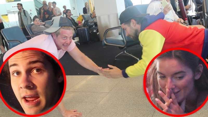 OUR EMBARRASSING AIRPORT WORKOUT
