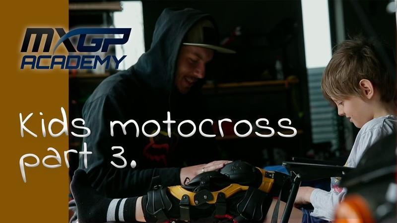 Физическая подготовка мотокроссмена Дети в мотокроссе Ep 3 Motocross Phisical Training