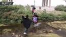 Migrantes intentan cruzar Río Bravo y los controles fronterizos en búsqueda del sueño americano