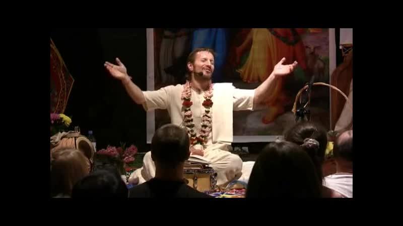 Радха Рамана Хари Говинда джая джая Шри Прем Прайоджан Прабху 17 03 2011 г