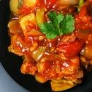 Мясо по-китайски в кисло-сладком соусе ⠀