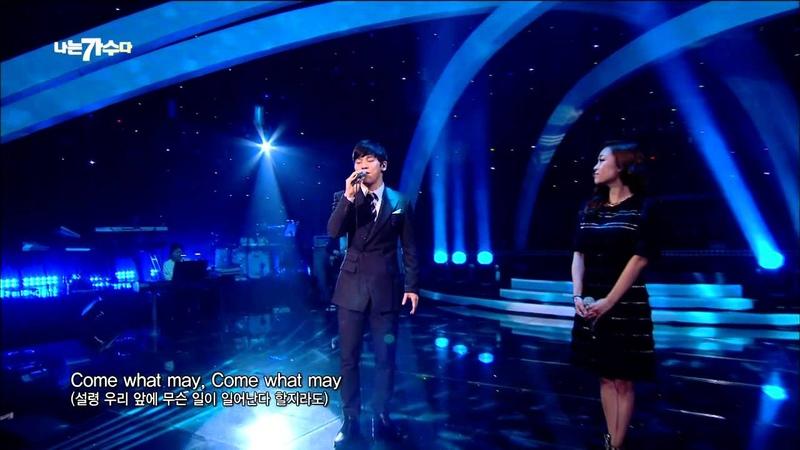 [I Am a Singer 나는 가수다3] - Park Jung Hyun Hong Kwang ho - Come What May 20150306