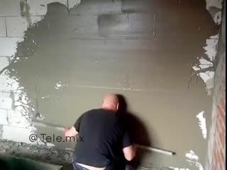 Новая технология выравнивания стен!