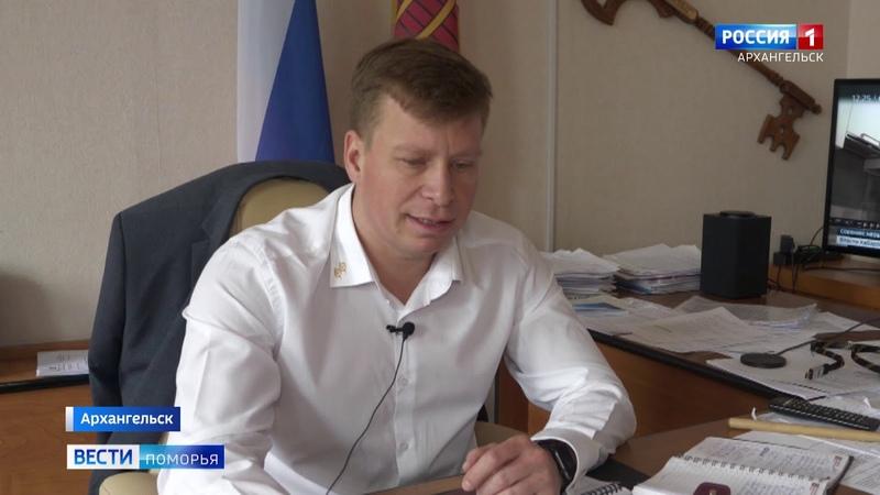 Вести Поморья. Уровни воды в реках Архангельской области растут