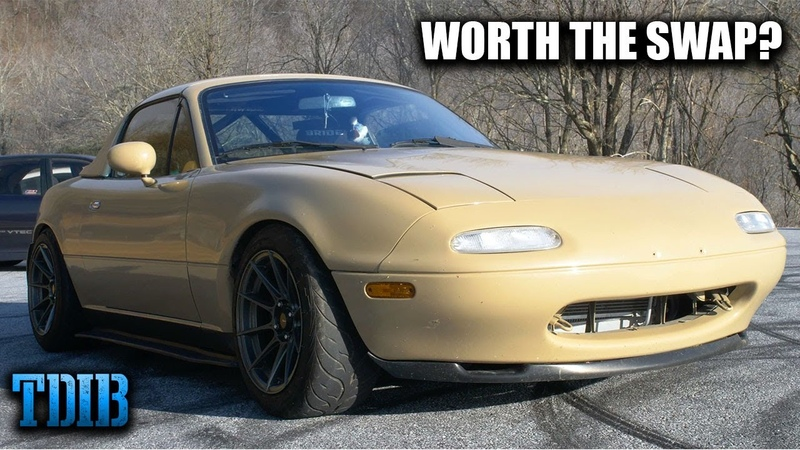 K24 Swapped Mazda Miata Review! Is a K-Swap Really Worth It