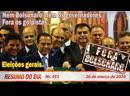 Nem Bolsonaro, nem os governadores. Fora os golpistas, eleições gerais - Resumo do Dia nº 455 - 26/03/20