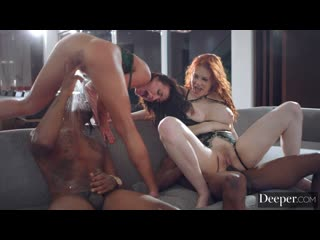 Maitland Ward & Adriana Chechik (Muse Episode 3) [2020, Big Tits, Foursome, Interracial (IR), Small Tits, HD 1080p]