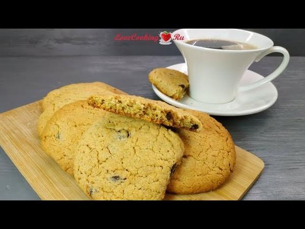 Овсяно кокосовое печенье Oatmeal Coconut Cookies LoveCookingRu