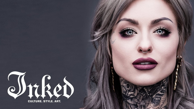 Ryan Ashley's Cover Shoot April 2017 INKED