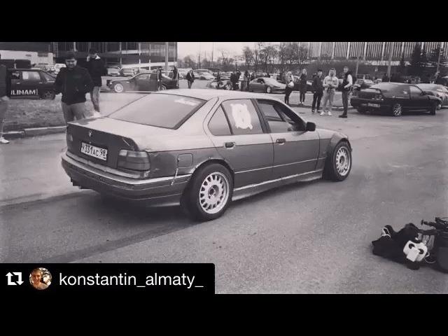 """Дмитрий Терентьев on Instagram: """"Repost @konstantin_almaty_ with @repostapp. ・・・ bmw bmwe36 миравтомобиля bmw e36 drift driftcar korch m60b40"""""""
