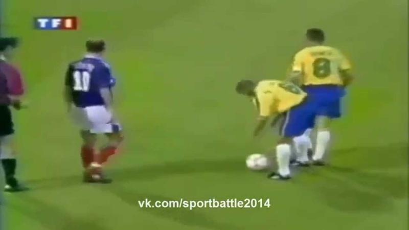 Роберто Карлос лучший штрафной удар