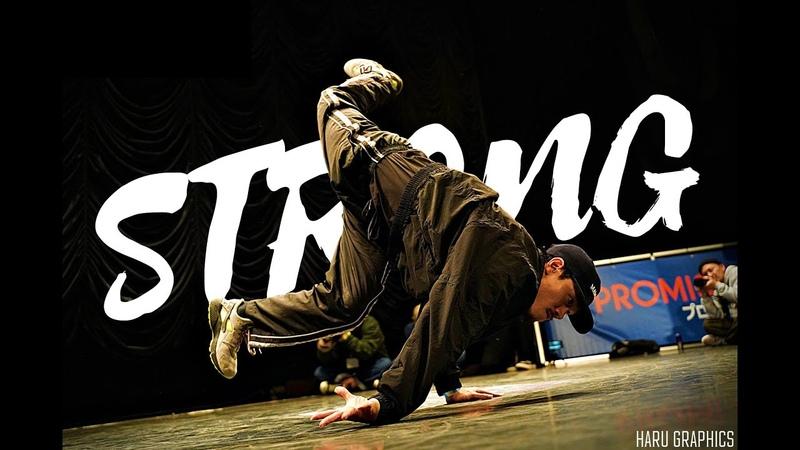 STRONGEST BBOYS IN JAPAN 重力無視 怪力ブレイクダンス