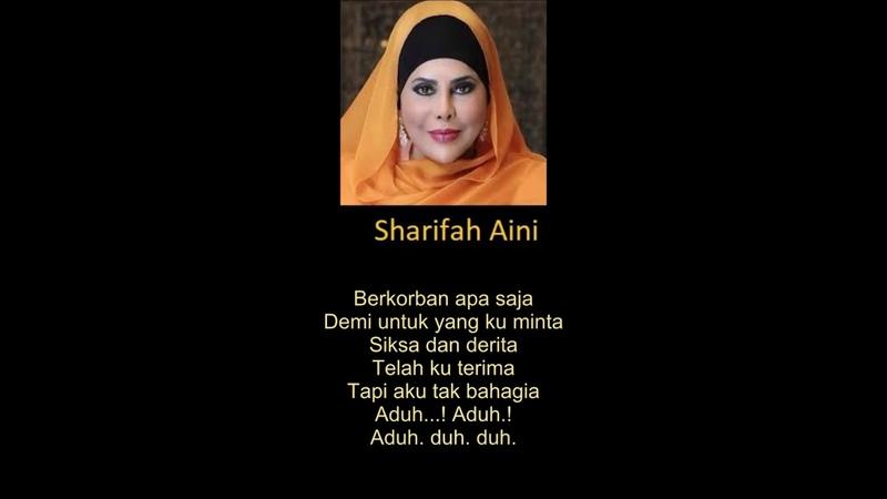 MALAYSIA Sharifah Aini Kau Pergi Tanpa Pesan You Left Without Any Saying