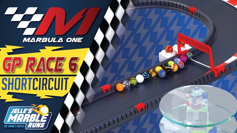 Marbula One 2020 Short Circuit GP S1R6 Marble Race by Jelle's Marble Runs