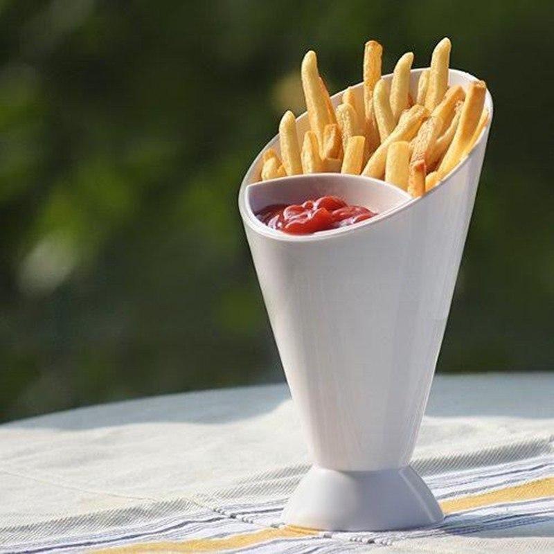 Чаша для картошки и соуса -