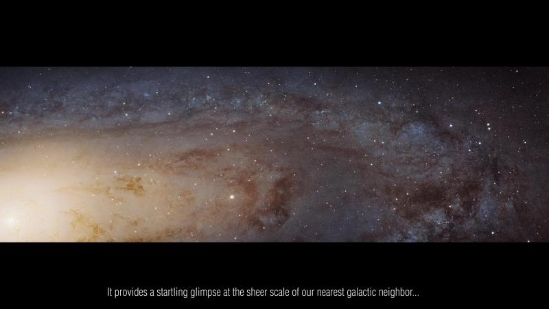 Гигапиксели Андромеды 4K