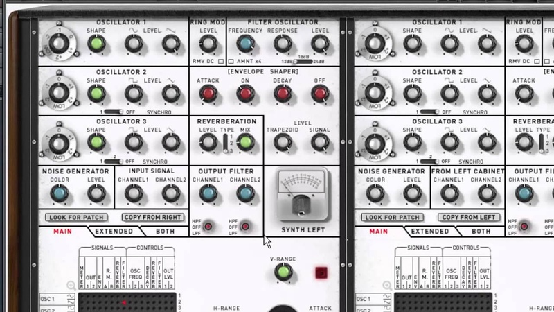 XILS 4 first look VCS3 soft synth