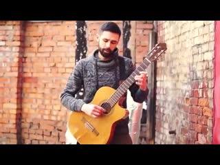 Шикарно сыграл на гитаре Pink - Try в исполнении theToughBeard