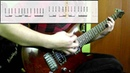 Muse - Hysteria Guitar Cover Play Along Tabs In Video