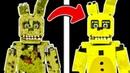 я ПОЧИНИЛ СПРИНГТРАПА в Майнкрафт МАЙНКРАФТ фнаф пять ночей с фредди майнкрафт fnaf minecraft