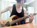 Maximum the hormon - what`s up, people? (guitar cover)