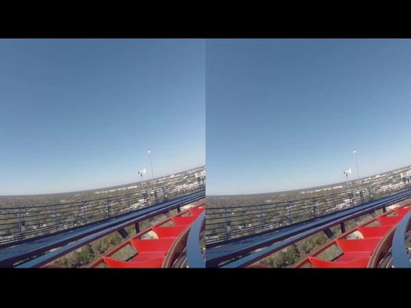 VR BOX 3D Montaña Rusa Sheikra Busch Gardens Tampa | PARQUES Y VIAJES