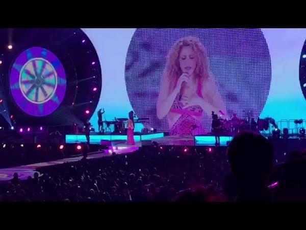 La Bicicleta - Shakira - Antwerpen 2018