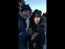 Александр Головин актер театра МСХТ на запуске ракеты Союз на Байконур.