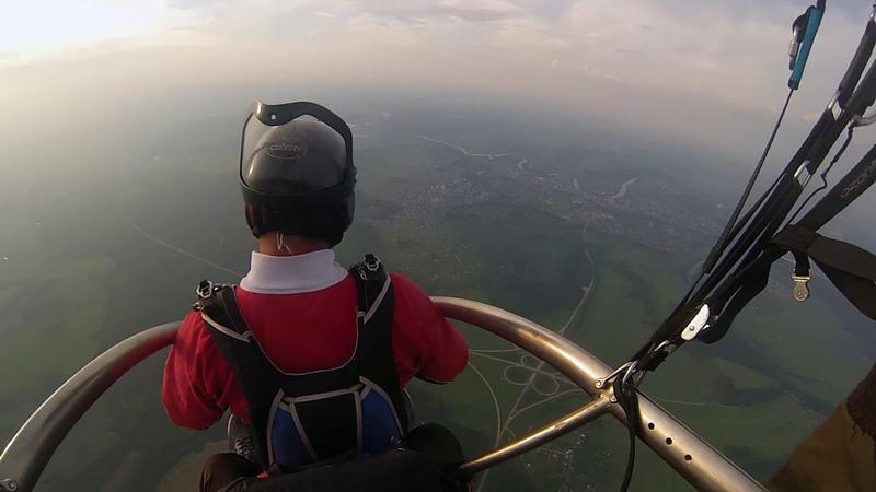 прыжок с парашютом Морозов