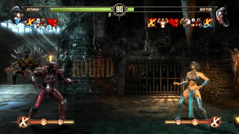 Mortal Kombat Komplete Edition - Test Your Luck - Kitana [2K-60fps]