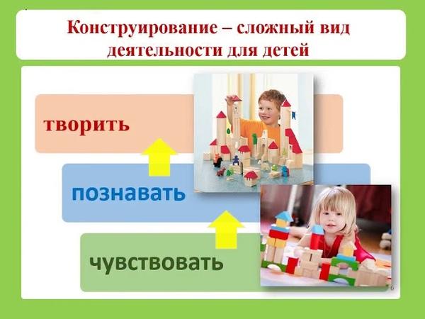 Техническое конструирование детей дошкольного возраста