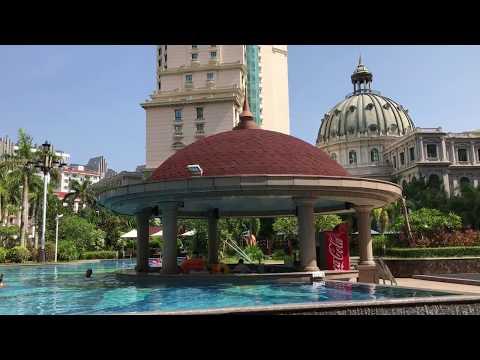 Отель Баохонг бухта Дадунхай, Хайнань. Baohong Hotel. Санья в сентябре, Китай.