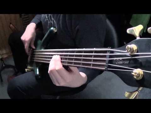 Meshuggah - Combustion on bass guitar