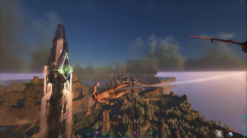 я летаю без крыльев в Ark Survival Evolved Flight without aberrant wings!