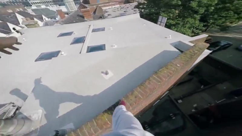 Mirrors Edge Real Life Parkour - Go Pro 4