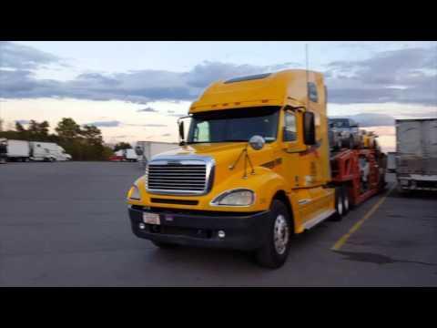 Freightliner Columbia Рейс на Техас