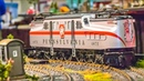 AWESOME HUGE RC Trains on a stunning display!