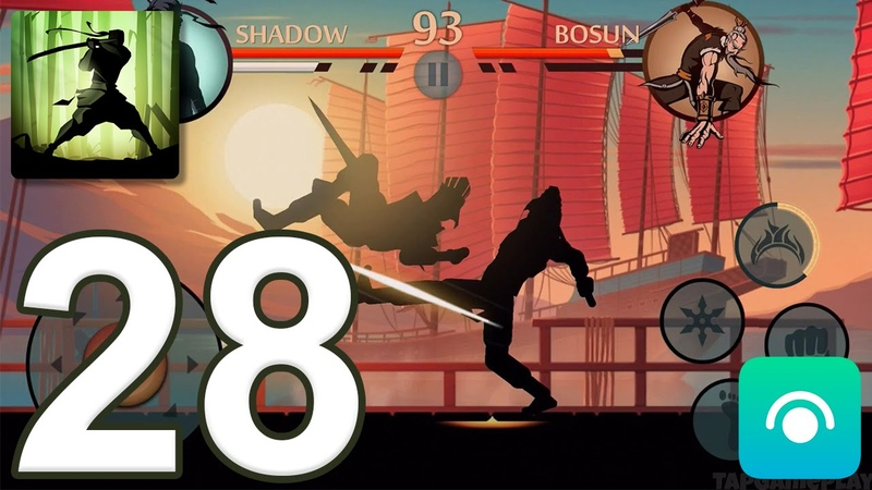 Shadow Fight 2 - Gameplay Walkthrough Part 28 - Act 4 (iOS, Android)