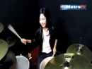 SAKITNYA TUH DISINI CITA CITATA Drum Cover by Nur Amira Syahira