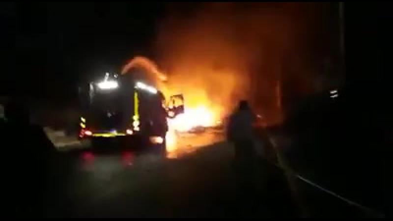 Une explosion massive dans l'ouest de la ville d'Alep située près des positions de l'armée turque