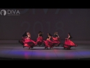 Танец живота, номер Арабское фламенко, хореограф Александра Юшкова